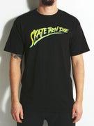 Skate Mental Skate Then Die T-Shirt