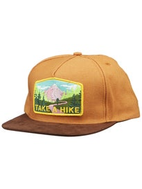 Skate Mental Take a Hike Suede Snapback Hat