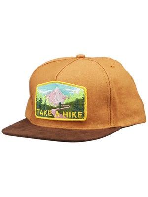 Skate Mental Take a Hike Suede Snapback Brown