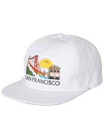 Skate Mental Tourist Snapback Hat