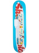 Skate Mental Team Plane Deck 8.125 x 31.625