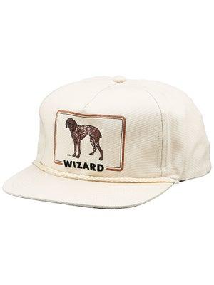 Skate Mental Wizard Snapback Hat Tan