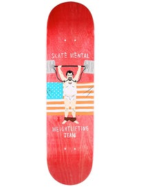 Skate Mental Weightlifting Team Deck 8.25 x 31.625