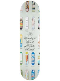 Skate Mental Wonderful World Deck 8.0 x 31.875