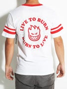 Spitfire Live To Burn Swirl S/S Jersey T-Shirt