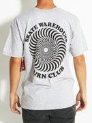 Spitfire x Skate Warehouse OG Classic Burn Club T-Shirt