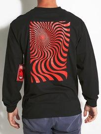 Spitfire Swirl Box Longsleeve T-Shirt