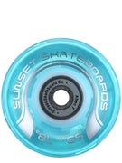 Sunset Flare Aqua LED Wheels  59mm