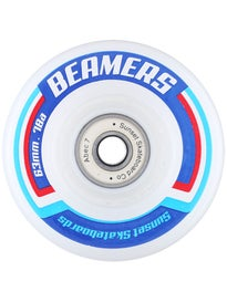 Sunset Beamer White LED Wheels 63mm