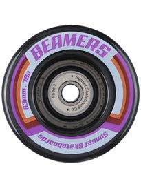 Sunset Beamer Black LED Wheels 63mm