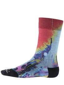 Stance Beyond The Sunset Socks  Red