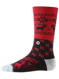 Stance Blitzn Socks\ Red