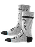 Stance Russ Pope Curb Feelers Socks  Grey