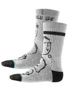 Stance Russ Pope Curb Feelers Socks  Grey
