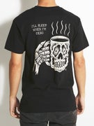 Sketchy Tank Caffiend T-Shirt