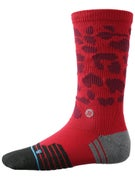 Stance Cheets Fusion Athletic Crew Socks  Red