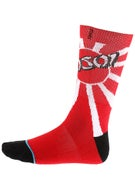 Stance Skate Legends Hosoi Socks  Red
