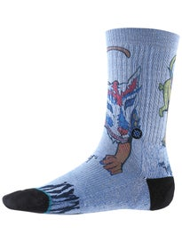 Stance Skate Legends Chris Miller Socks  Blue