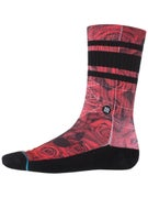 Stance Chris Cole Prowler Socks  Red