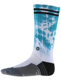 Stance Cole Cloudy Skate Socks  Aqua
