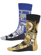 Stance x Star Wars Droid Socks  Blue