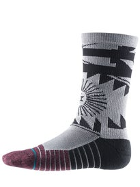 Stance Fusion Athletic El Morro Socks  Grey