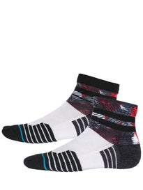 Stance Georgey Quarter Socks  Red