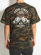 Sketchy Tank Good Times Camo T-Shirt