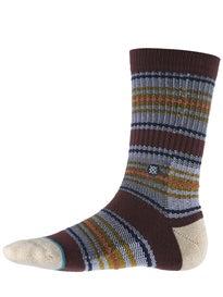 Stance Gaviotas 2 Socks  Burgundy