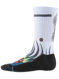 Stance Skate Legends Jeff Grosso Socks  Grey