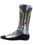 Stance Skate Legends Pray For Me Redux Socks  White