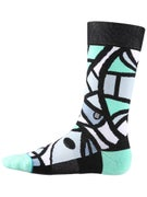 Stance Karate Chop Socks  Black
