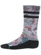 Stance Lei-Lei Socks  Grey