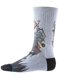 Stance Skate Legends Lucero Joker Socks  Grey