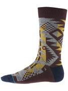Stance Lowlands Socks  Burgundy