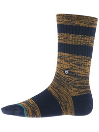 Stance Mission Socks  Navy