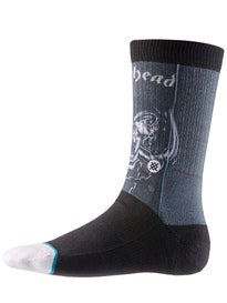 Stance Legends of Metal Motorhead Socks  Black