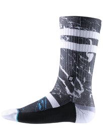 Stance Marble Socks  Black