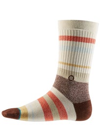 Stance Malibu Stripes Topanga Socks Red