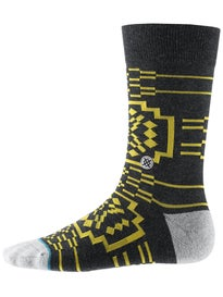 Stance Nectar Socks  Charcoal