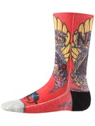Stance Skate Legends Natas Kaupas Socks  Red