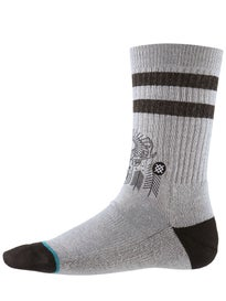 Stance Peaceful Socks  Grey