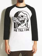 Sketchy Tank Pie 3/4 Sleeve T-Shirt
