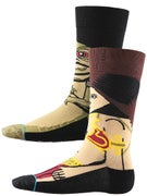 Stance x Star Wars Princess Socks  Tan