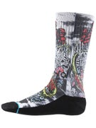 Stance Skate Legends Poseidon Redux Socks  White