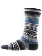 Stance Sun Burst Socks  Blue