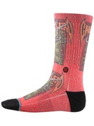 Stance Skate Legends Caballero 2 Socks  Red