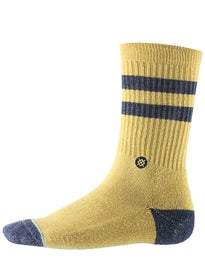 Stance Salty Socks  Gold