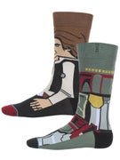 Stance x Star Wars Bounty Socks  Green