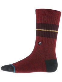Stance Sequoia 2 Socks  Maroon